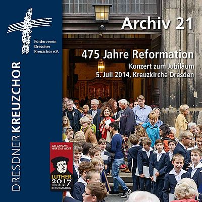 CD Cover 475 Jahre Reformation (CD 2015)